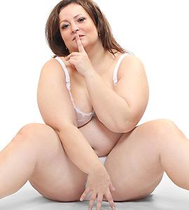 geile dicke Frau